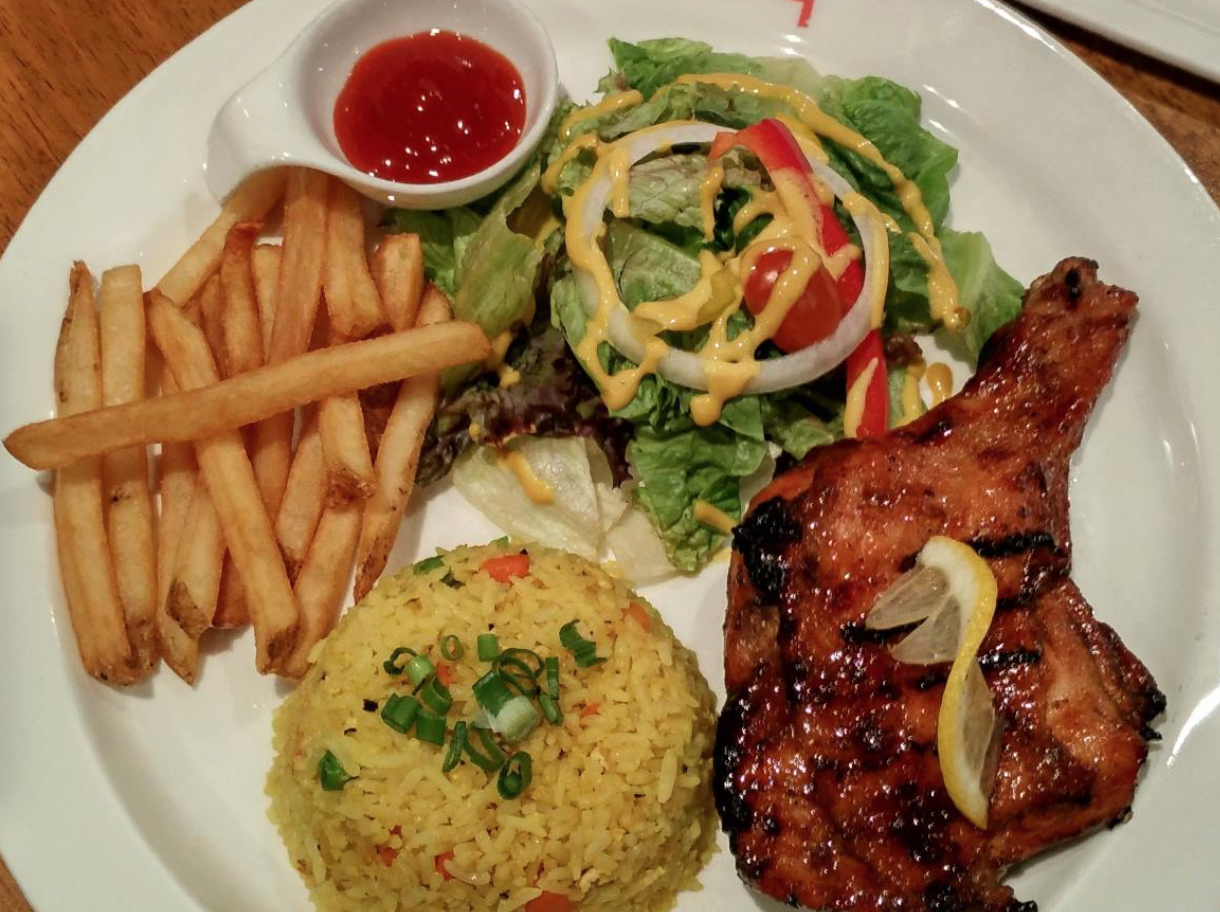 Bbq chicken elite avenue bayan baru foodadvisor if you want to taste some korean food with a touch of western elements go for the korean charbroiled the dish will be served with a piece of grilled forumfinder Images