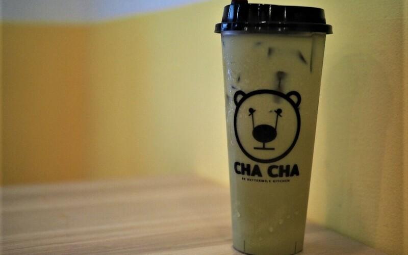 Cha+cha+thai+green+milk+tea