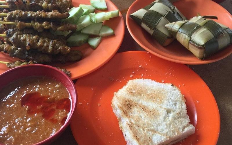 Kopitiam+melaka+ +lung+ann+refreshments+ +foursquare+4+ +satay+4