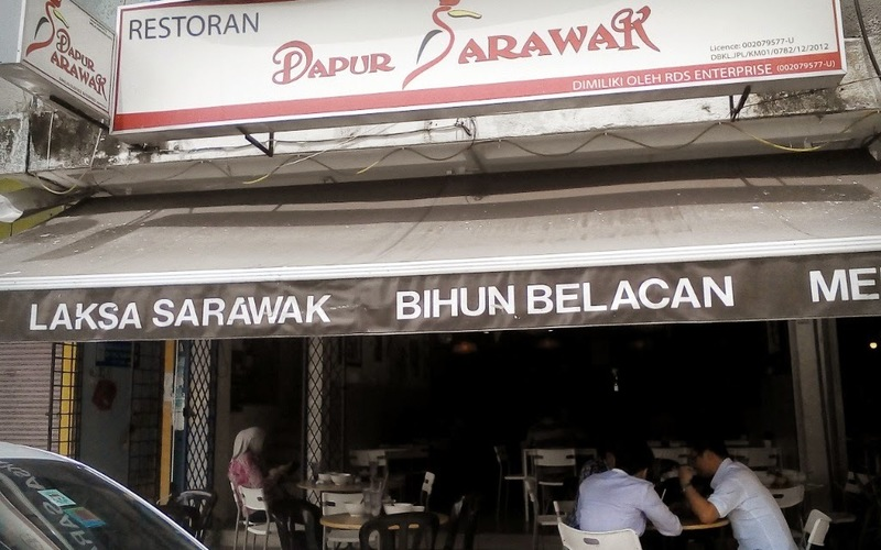 Menu Of Restoran Dapur Sarawak City Center Foodadvisor